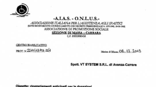 AIAS Massa Carrara 2013