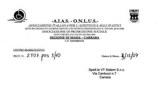 AIAS Massa Carrara 2010